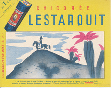 BUVARD - Chicorée LESTARQUIT - Far West - Buvards, Protège-cahiers Illustrés