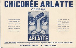 BUVARD - Chicorée ARLATTE, Cambrai - Buvards, Protège-cahiers Illustrés