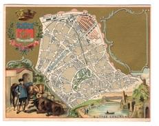 Plan Du 19ème Arrondissement - Trade Cards
