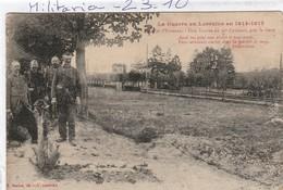 Militaria : Cimetière   ( EINVAUX )  Une Tombe Du 36é Colonial, Près  La Gare - War Cemeteries