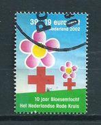 2002 Netherlands Red Cross,rode Kruis,rotes Kreuz Used/gebruikt/oblitere - Periode 1980-... (Beatrix)