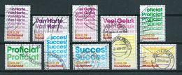 2002 Netherlands Complete Set Greetings Used/gebruikt/oblitere - Periode 1980-... (Beatrix)