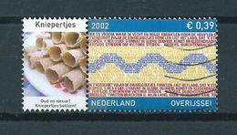 2002 Netherlands Overijssel+tab Kniepertjes Used/gebruikt/oblitere - Periode 1980-... (Beatrix)