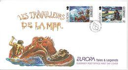 Guernsey 1997  Europa  (o) FDC - Guernesey