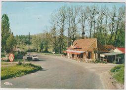 Eure :  GASNY :  Auberge  Saint  Eustache  , Prés  La  Roche  Guyon ( 4 L Renault) - Autres Communes