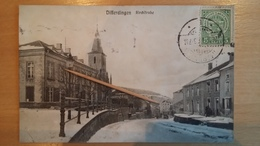 DIFFERDINGEN - Kirchstrasse - 1910 - Cartes Postales