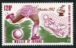 RB 1180 -  1982 Wallis & Fortuna Islands 120f. Football Stamp - MNH - SG 385 France Colony - Wallis And Futuna