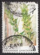 Grecia 2016 Sc. Sideritis Clandestina Used Hellas Greece - Vegetazione
