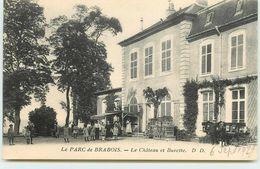 DEP 54 VILLIERS LES NANCY LE PARC DE BRABOIS  LE CHATEAU ET BUVETTE - Autres Communes