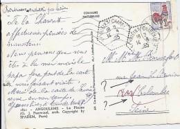 CHARENTE - 16 - ST YRIEIX S/CHARENTE   TàD De Type F8 De 1965 - Postmark Collection (Covers)