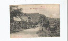 BOUILLAC 342 L'AVEYRON L'HOTEL DERRUAU ET ENTREE DU VILLAGE 1926 - Frankreich