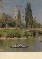 67906- ALMATY- THE PARK, LAKE, BOATS, BRIDGE, AMUSEMENT PARK - Kazakhstan