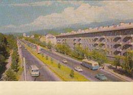 67908- ALMATY- ABAY AVENUE, BUSS, CAR - Kazakhstan