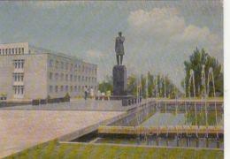 67911- ALMATY- SHOQAN WALIKHANOV MONUMENT, FOUNTAIN - Kazakhstan
