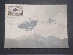 FRANCE - Carte Maximum De L 'Alouette En 1958 - L 10390 - Maximum Cards