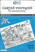 Cartes Postales Et Collections Janvier 1986  Magazines N: 107 Llustration &  Thèmes Divers 98 Pages - Français