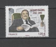 FRANCE / 2013 / Y&T N° 4754 ** : Jacques Baumel - Gomme D'origine Intacte - Neufs
