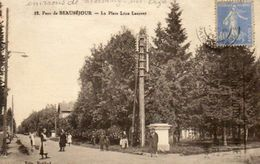 CPA - Environs De MORSANG-sur-ORGE (91) - BEAUSéJOUR , Le Parc Et La Place Léon Laurent Dans Les Années 30 - La Ferte Alais