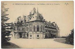 CHER - MENETOU-SALON - Le Château Côté De La Chapelle - France