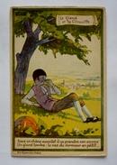 ALCOOL DE MENTHE DE RICQLES - Fable LE GLAND ET LA CITROUILLE - éd.BERNARD. PARIS - Werbepostkarten
