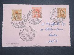 EGYPTE - Oblitération De L 'Unification Du Droit Pénal Au Caire En 1938 Sur Carte Postale - L 10394 - Egypt