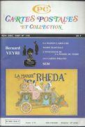Cartes Postales Et Collections Avril 1988  Magazines N: 120 Llustration &  Thèmes Divers 120 Pages - Français