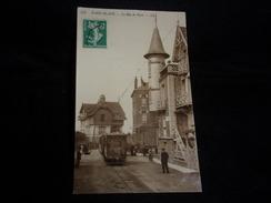 Le Touquet .Paris - Plage . Rue De Paris . Le Tramway . Voir 2 Scans . - Le Touquet