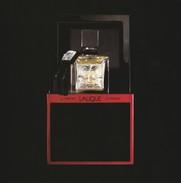 """LALIQUE """" Le PARFUM"""" Grande Belle Carte Glacée   17/17cm - Cartes Parfumées"""