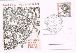 26552. Entero Postal WARSZAWA (Polska)  1972. KOPERNIK. Copernico Astronomia, Astrologia - Astrología