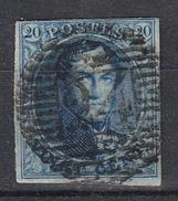 BELGIË - OBP - 1858/61 - Nr 11/11A (P24) - 4 Marges - Coba +1 - Postmark Collection