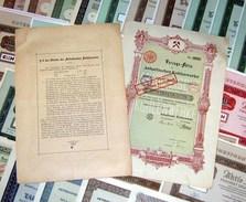 44 Versch. HWPs Bergbau Stahlindustrie Metall 1902-1982 - Bergbau