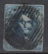 BELGIË - OBP - 1858/61 - Nr 11/11A (P75) - 4 Marges - Coba + 6 - Postmark Collection