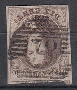 BELGIË - OBP - 1858/61 - Nr 10/10A (P78) - 4 Marges - Coba + 2 - Postmark Collection
