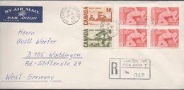 3214  Carta Aérea  Certificada Hamilton Ontario 1967 - Briefe U. Dokumente