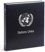 DAVO 182421 Luxe Binder Stamp Album UNO Geneva  I - Groß, Grund Schwarz