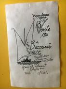 5912 - Mondeuse Noire De 13 Vents Vin Du Bacouni  Villette Henri Chollet Suisse - Bateaux à Voile & Voiliers
