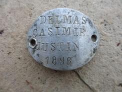 Medaille Militaire Mr Delmas Casimir 1896 - Unclassified