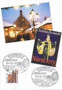 26555. Tarjeta Maxima NURNBERG (Alemania Federal) 2002. Christkindlesmarkt. Navidad - [7] República Federal
