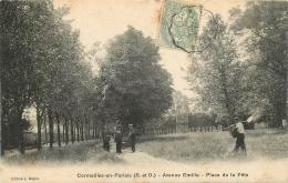 CORMEILLES EN PARISIS   AVENUE EMILIE PLACE DE LA FETE - Cormeilles En Parisis