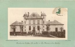 NESLES LA VALLEE LA MAIRIE ET LES ECOLES - Nesles-la-Vallée