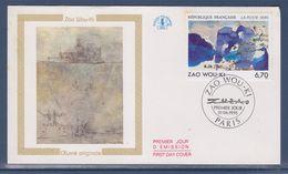 = Oeuvre Originale De Zao Wou-Ki Enveloppe 1er Jour Paris 10.06.95 N°2928 - 1990-1999