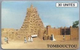 ML.- Telefoonkaart. SOTELMA. MALI. TOMBOUCTOU. 30 UNITES. 2 Scans. - Mali