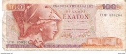 Greece - Pick 200 - 100 Drachmai 1978 - G - Grecia