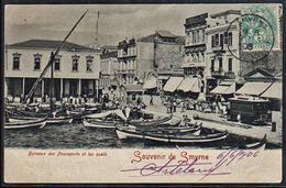 TURQUIE (Bureau Français à L'étranger) Timbre Du Levant N° 13 Obl Smyrne Turquie D'Asie En 1906 (Pothion Cote 75 €) - 1837-1914 Smyrna
