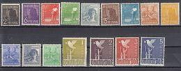 AAS - DEUTSCHLAND - ALLEMAGNE - GERMANIA - 1947 - 16 Valori MNH (vedere Descrizione) - American,British And Russian Zone