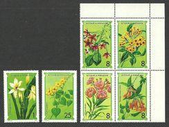 ST THOMAS AND PRINCE 1979 FLOWERS SET MNH - Sao Tome And Principe