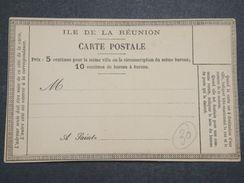 RÉUNION - Entier Postal Précurseur Non Voyagé - L 10418 - Réunion (1852-1975)