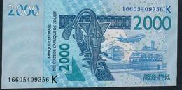 W.A.S. SENEGAL P716Kp 2000 FRANCS (20)16  UNC. - Sénégal