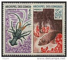 Comores, N° 035 à N° 038** Y Et T, 35 / 38 - Unused Stamps