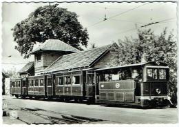Schepdaal. Musée Du Tram/Trammuseum. Stoomtrein Van De Buurtspoorwegen. Type De Train à Vapeur Vicinal. - Tramways